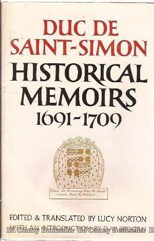 Historical Memoirs Of The Duc De Saint-Simon A Shortened Version *2 Volumes in Slipcase*: Norton, ...