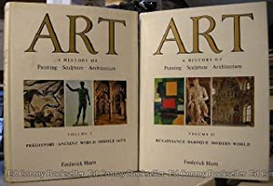 Art A History of Painting Sculpture Architecture *2 Volumes*: Hartt, Frederick