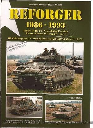 Reforger Die Fahrzeuge der U.S. Army wahrend: Bohm, Walter