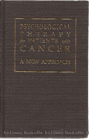 Psychological Therapy for Patients with Cancer: A New Approach: Moorey, Stirling and Steven Greer