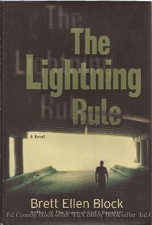 The Lightning Rule: Block, Brett Ellen *Author SIGNED/INSCRIBED!*