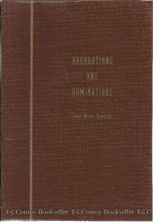 Aberrations and Ruminations: Bennett, John Mirza