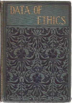 The Data of Ethics: Spencer, Herbert
