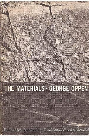 The Materials: Oppen, George