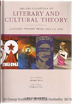 The Encyclopedia of Literary and Cultural Theory 2 Volumes: Ryan, Michael General Editor