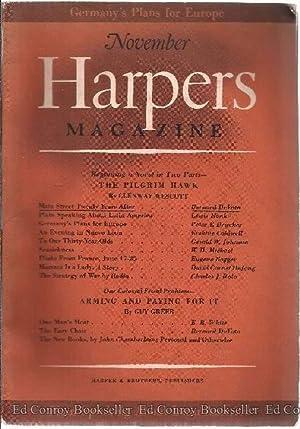 Harpers Magazine November 1940 Volume 181: Harper's