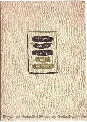 Historia Sztuki Polskiej *Volume III ONLY*: Blumowna, Helena and