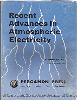 Recent Advances In Atmospheric Electricity Proceeding of the Second Conferene on Atmospheric ...
