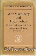 War Machinery and High Policy: d'Ombrain, Nicholas