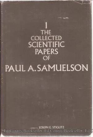 The Collected Scientific Papers Of Paul A. Samuelson Volumes 1 & 2 ONLY!!: Samuelson, Paul A.