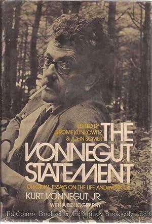 The Vonnegut Statement: Klinkowitz, Jerome & John Somer, Editors