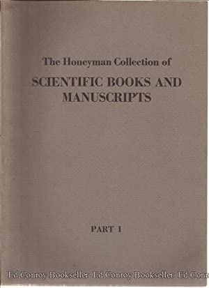 The Honeyman Collection of Scientific Books and Manuscripts Parts 1-4: Sotheby Parke Bernet & Co.