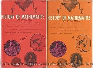 History Of Mathematics Volumes I & II: Smith, David Eugene
