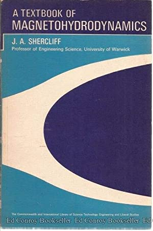 A Textbook Of Magnetohydrodynamics: Shercliff, J. A.