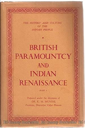 The History And Culture of the Indian: Majumdar, R. C.
