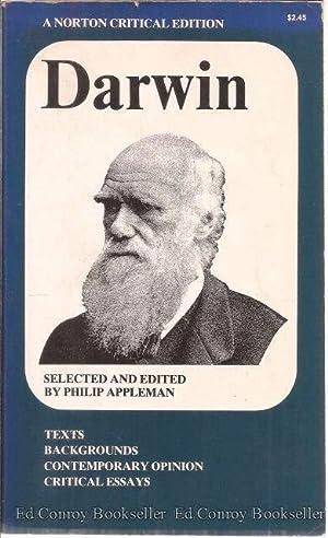 Darwin A Norton Critical Edition: Appleman, Philip Editor