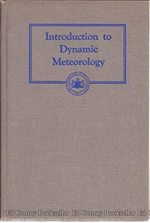 Introduction to Dynamic Meteorology: Panofsky, Hans