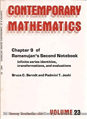 Contemporary Mathematics Volume 23 Chapter 9 of: Berndt, Bruce C.
