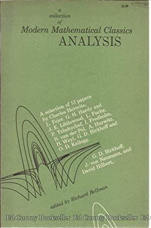 A Collection of Modern Mathematical Classics: Bellman, Richard Editor