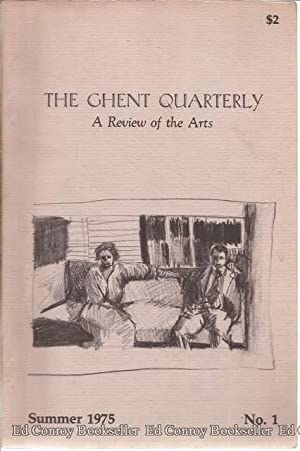 The Ghent Quarterly A Review of the: Martinette, Samuel Jr.