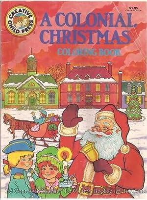 A Colonial Christmas Coloring Book Rudin Helen Editor
