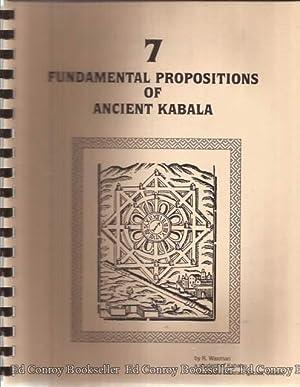 7 Fundamental Propositions of Ancient Kabala: Waxman, R.