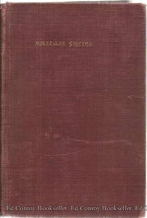 Molecular Spectra and Molecular Structure: Hersberg, Gerhard