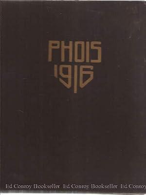 Phois Poughkeepsie High School 1916 Volume VIII: Senior Class
