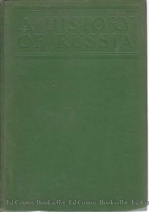 A History Of Russia: Pares, Bernard