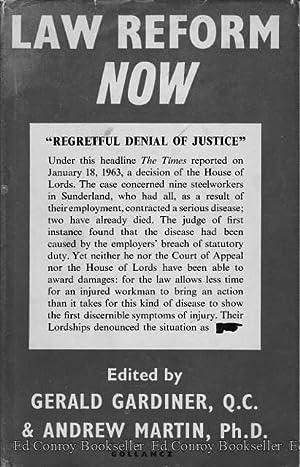 gerald gardiner - law reform now - AbeBooks