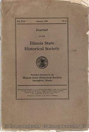 Journal of The Illinois State Historical Society *Vol. XVII, No. 4*: Weber, Jessie Palmer (Editor)