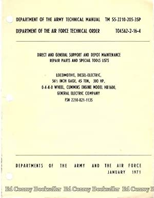 Direct and General Support and Depot Maintenance Repair Parts and Special Tools Lists: Army and the...