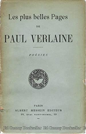 Les Plus Belles Pages De Paul Verlaine: Author Not Stated