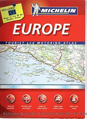 Europe Tourist and Motoring Atlas: Michelin
