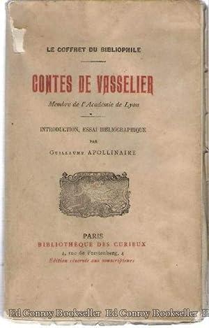 Contes De Vasselier Le Coffret Du Bibliphile: Apollinaire, Guillaume