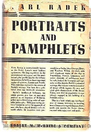 Portraits and Pamphlets: Radek, Karl with Introduction by A. J. Cummings and Notes by Alec Brown