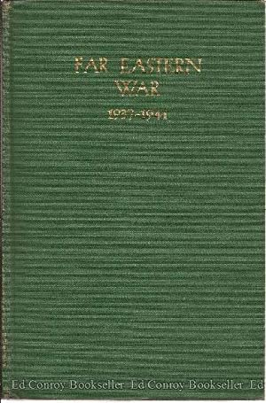 Far Eastern War 1937-1941: Quigley, Harold S.