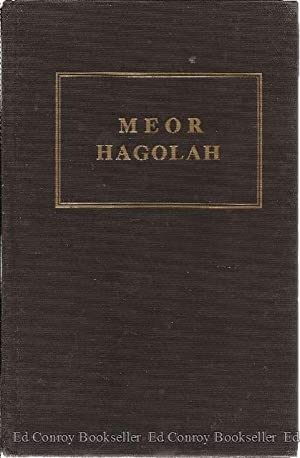 Meor Hagolah (Light of the Exile): Gershom, Rabbenu
