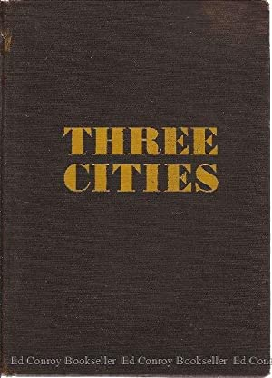 Three Cities A Trilogy: Asch, Sholom *Author SIGNED/INSCRIBED!*
