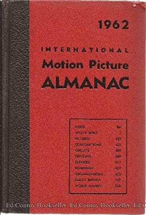 1962 International Motion Picture Almanac: Aaronson, Charles S., Editor