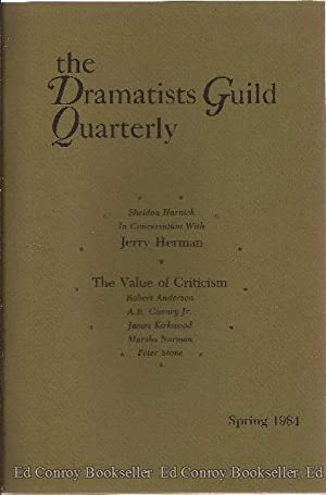 The Dramatists Guild Quarterly Volume 21, No 1-4 1984: Guernsey, Otis L. Jr., Editor