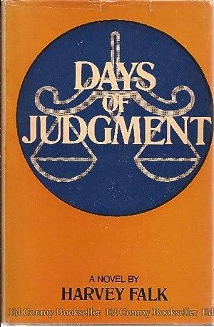 Days of Judgment A Novel: Falk, Harvey *Author SIGNED/INSCRIBED!*