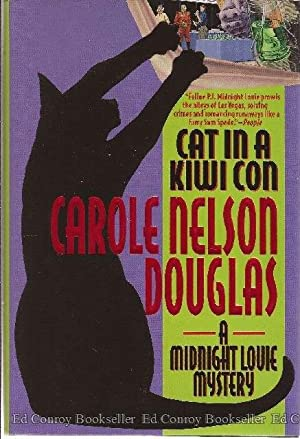 Cat in a Kiwi Con A Midnight Louie Mystery: Douglas, Carole Nelson *Author SIGNED/INSCRIBED!*