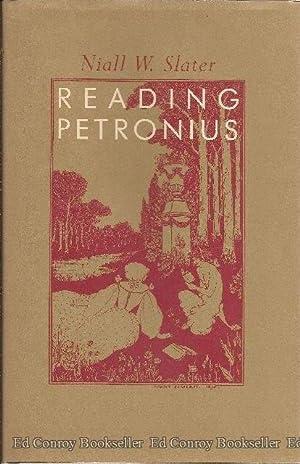 Reading Petronius: Slater, Niall W.