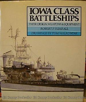 Iowa Class Battleships Their Design, Weapons &: Sumrall, Robert F.