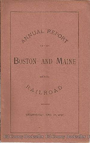 Fifty-Ninth Annual Report of The Directors of the Boston and Maine Railroad to The Stockholders, ...