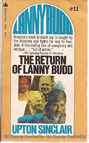 The Return of Lanny Budd: Sinclair, Upton