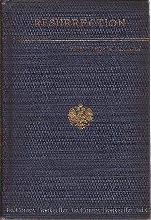 Resurrection: Tolstoi, Lyof N. (Aline P. Delano, Trans)