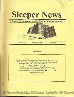 Sleeper News Volume 6, Number 1-4 1998: Author Not Stated
