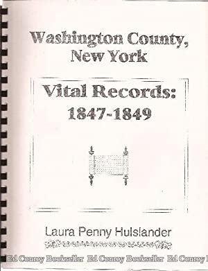 Vital Records 1847-1849 Washington County, New York: Hulslander, Laura Penny